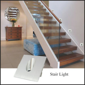 10-x-3W-Square-LED-Step-Stair-Wall-Corner-Light-Indoor-Walkway-Lamp-Warm-White