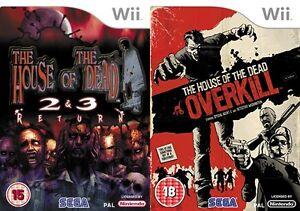 The House Of The Dead 2 3 Return Overkill Pal Ebay