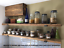 thumbnail 1 - Reclaimed Old Rustic Wood Scaffold Board Shelves Industrial Shelf