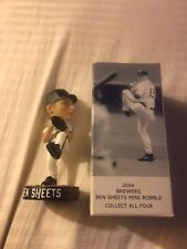 Mini BEN SHEETS Milwaukee Brewers Bobblehead