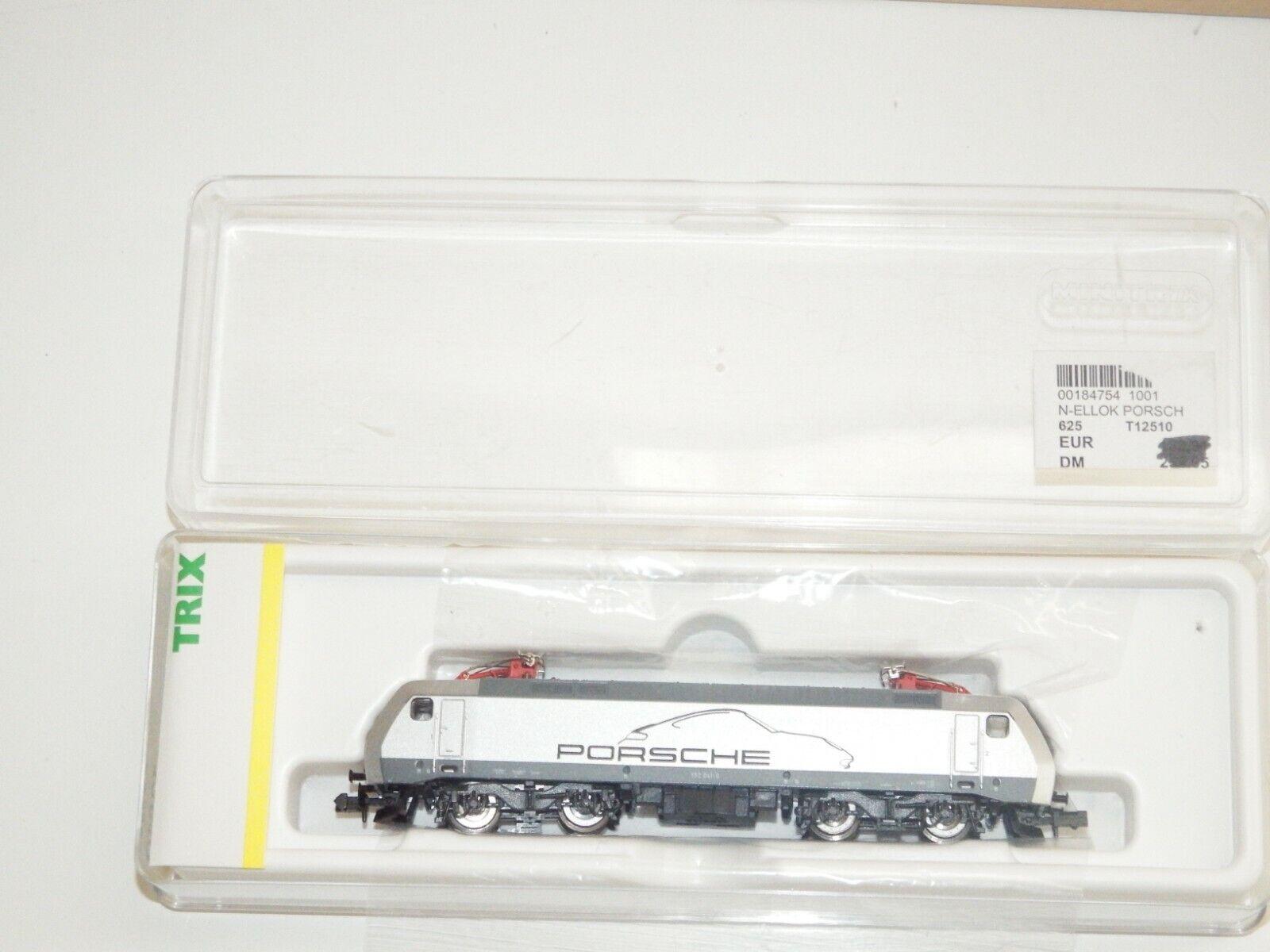 N Trix 12510 Locomotora Eléctrica Br 152 041-0 DB Porsche SBB como Emb.orig 7959