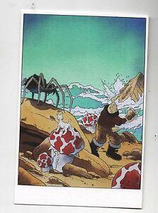 Carte-Postale-Tintin-par-Pascal-SOMON-Tintin-sur-l-039-etoile-mysterieuse