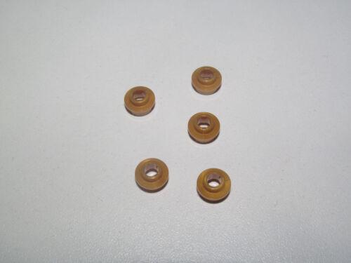Lego ® Lot x5 Plaque Ronde Troue Tile Plate Round 1X1 w Hole Choose Color 85861