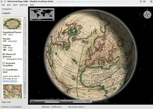 Terra Earth Map.3d Marble Globe Earth Moon Venus Mars Virtual Atlas Map Software Pc