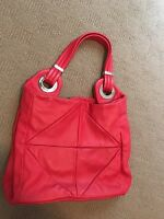 Stunning Oroton Hobo Bag In Vibrant Red Condition.