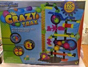 Crazy Trax By Tecno Gears Marble Mania 125 Pieces Ebay