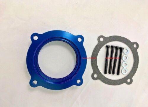 BLUE Throttle Body Spacer Fit 11-18 Dodge Chrysler 3.6L V6 //12-17 Jeep Wrangler