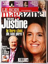 Soir Magazine 3/05/2008; Pascal Sevran/ Line Renaud/ Justine Hénin/ Star Malade