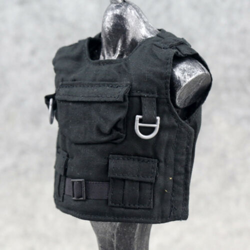 "1//6 Scale Accessories Model Black Bulletproof Vest 12/"" Action Figure Body Armor"