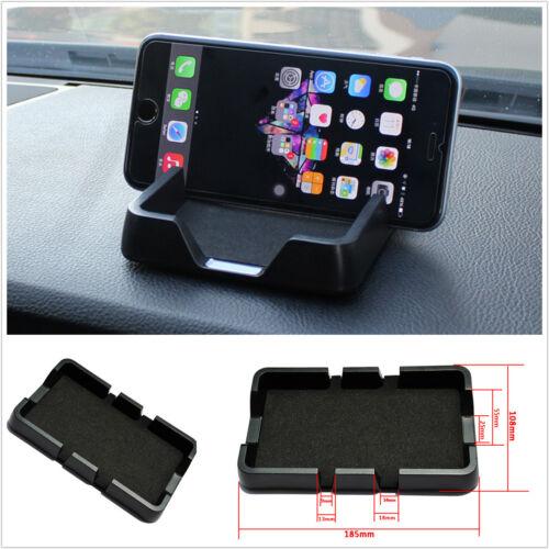 ABS Black Anti Slip Pad Car Dashboard Phone GPS Holder Mount Pad Mat Universal