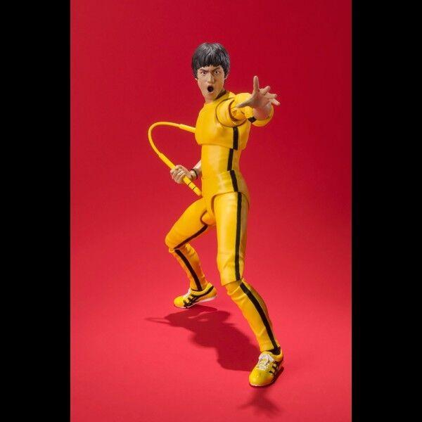 -=] BANDAI - Bruce Lee SH Figuarts Gelb suit [=-