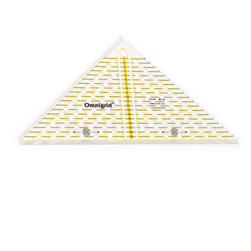 Prym 1 St Universallineal Patchworklineal bis 20cm Dreieck 1//4 Quadrat   611313