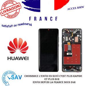 Ecran Complet Noir pour Huawei P30 Pro (avec châssis)