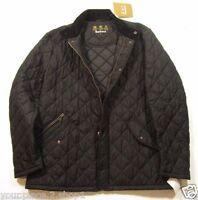 Barbour Men's Black Chelsea Sportsquilt Quilted Jacket