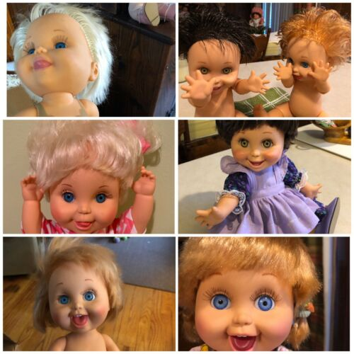 """""""Two Sisters Dollhouse Repairs Offers Galoob Baby Face &Tubby Restringing +more"""