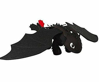 """OK-STORE DreamWorks Dragons: How to Train Your Dragon 14"""" Plush Toothless"""