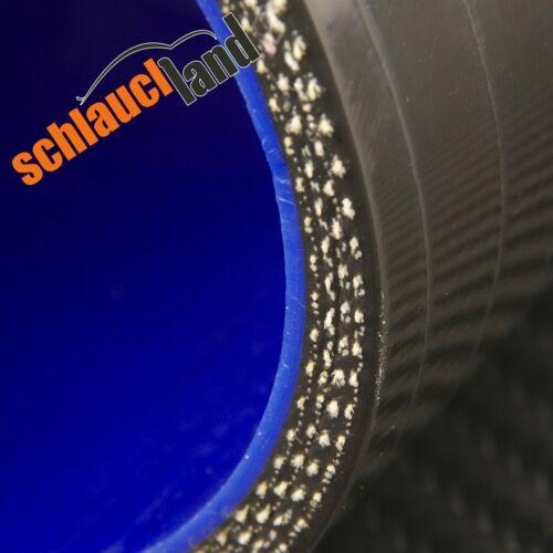 RIDUTTORE ID 76-45mm NERO *** Silicone Tubo silicotubercolosi-connettore in silicone