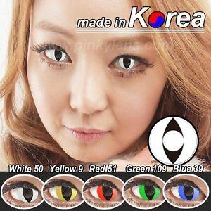 Colored Contacts Lenses Korea Halloween Crazy Lens Kontaktlinsen