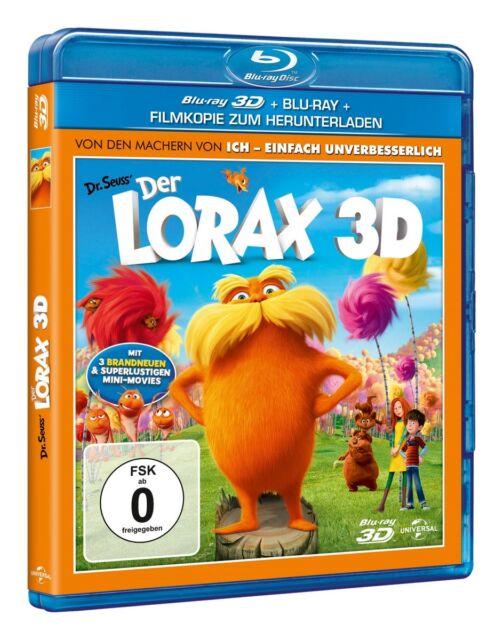 Zac Efron ( (Originalstimme Ted)) - Der Lorax 3D, 1 Blu-ray + Digital Copy