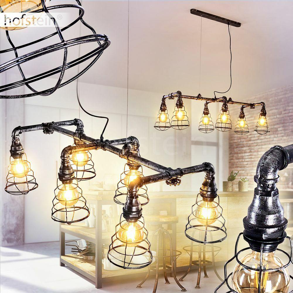 Industrial Pendel Leuchten Ess Wohn Schlaf Zimmer Hänge Lampen Vintage Retro