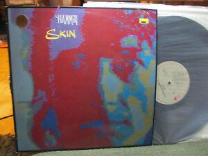 PETER-HAMMILL-1986-skin-LP-prog-synth-VAN-DER-GRAAF-GENERATOR-PROMO-OOP-rare