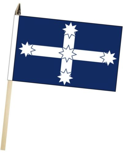 Australia Eureka Stockade Battle Large Hand Waving Courtesy Flag