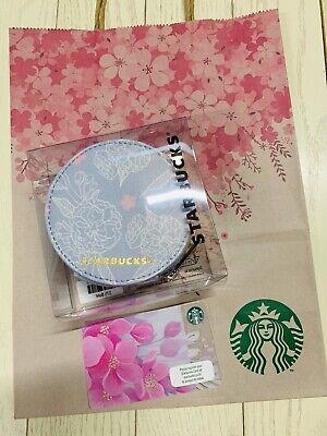 Starbucks Thailand 2019 Luggage Tag Cherry Blossom SAKURA pink