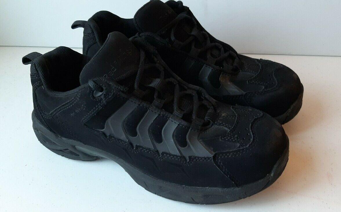 Red Wing Men's Shoe Size 11M SD Triple Black Steel Toe Work Sneaker Protective