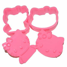 **So Cute HELLO KITTY COOKIE CUTTER MOLDS  NEW! More Character Styles Too!**