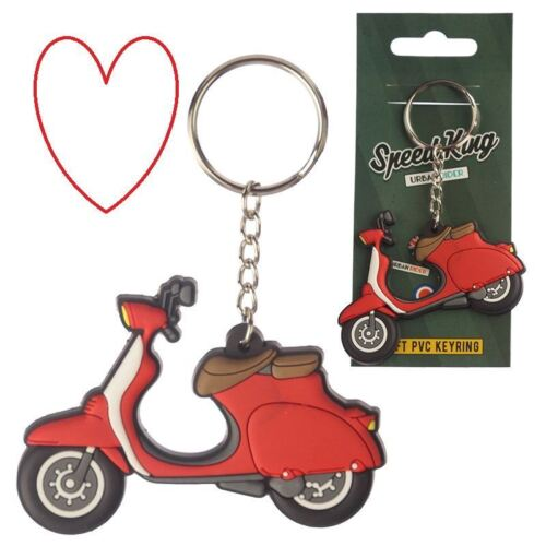 Novelty Scooter Key Chain PVC Gift Stocking Filler