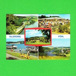 Ansichtskarte-DDR-Talsperre-Poehl