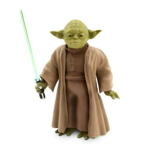 Disney Authentic Yoda Talking Action Figure with Lightsaber 9/'/' Star Wars