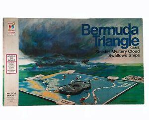 Bermuda Triangle Vintage Board Game Complete Set by Milton Bradley USA 1976 EUC
