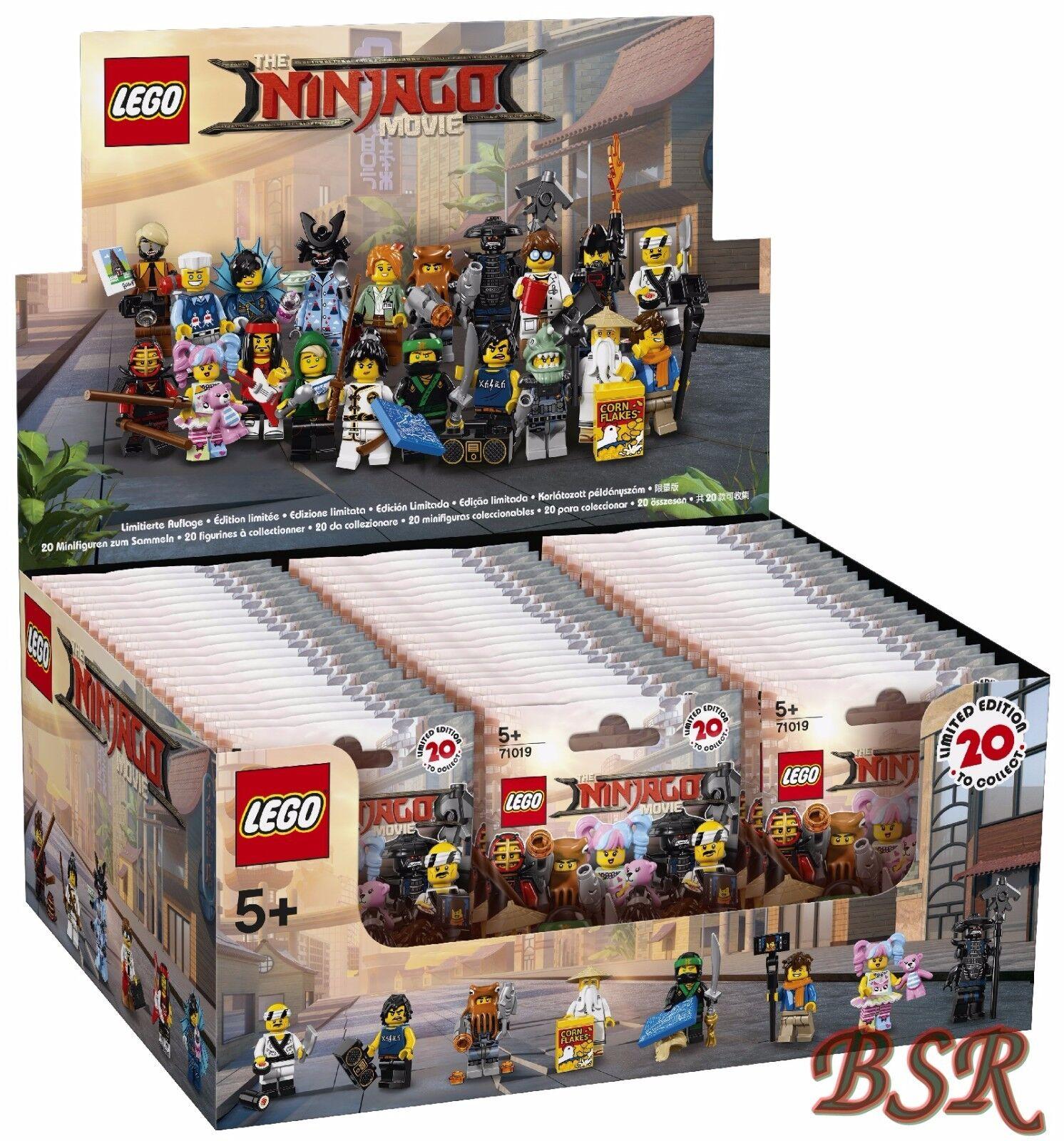 71019 The LEGO ® Ninjago Movie display SIGILLATO 60 personaggi NUOVO OVP 0.€ spedizione