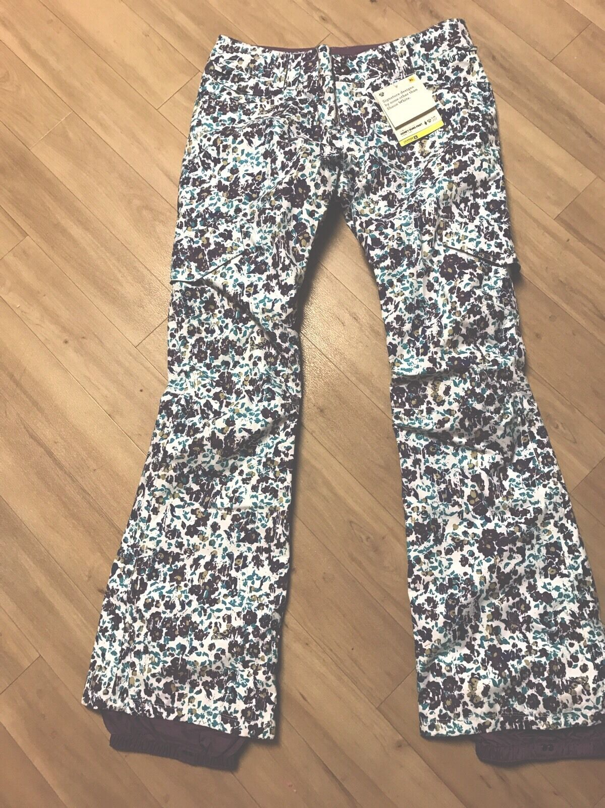 Burton Dryride Weiß Collection Honey Buns Pant XL    New With Tags    260
