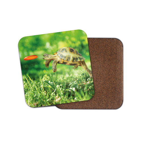 Funny Tortue Coaster-Tortue Pet Animal Frisbee Cool Papa Oncle Cadeau #14390