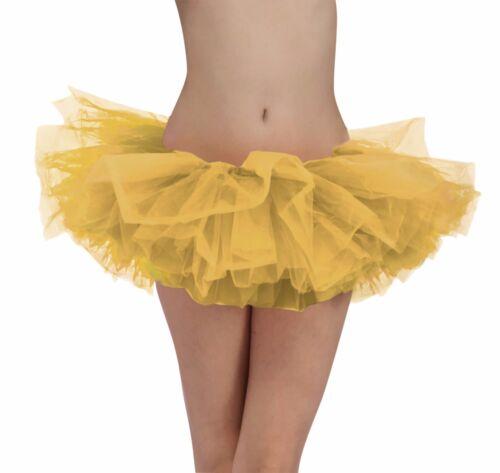 Tutu Oro o Argento Girly Carino Costume per le donne Frilly 2 COLORI