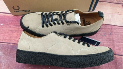 FRED PERRY x GEORGE COX /'Creeper/' Trainers Size UK 10 US 11 EUR 45 NEW WITH BOX