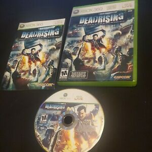 Dead Rising (Microsoft Xbox 360, 2006) Manual included