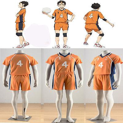 Drawstring Backpack Sport Bag Gym Sack Jersey Nishinoya Number 4 Karasuno XLFD Sacs /à Dos /à Cordon Haikyuu!