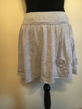 Abercrombie & Fitch Light Gray Minnie Skirt. Size: Small.