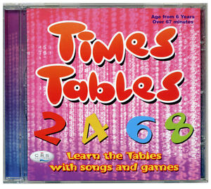 Times-Tables-CD-for-kids-Tables-Songs-music-amp-games-Incl-booklet-NEW