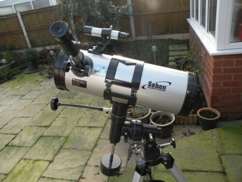 Seben reflector telescope review: tasco luminova telescope review