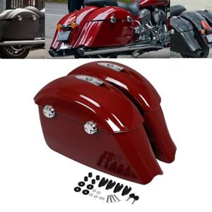 Hard Saddle Bag Electronic Latch Lid For Indian Chieftain Roadmaster Springfield