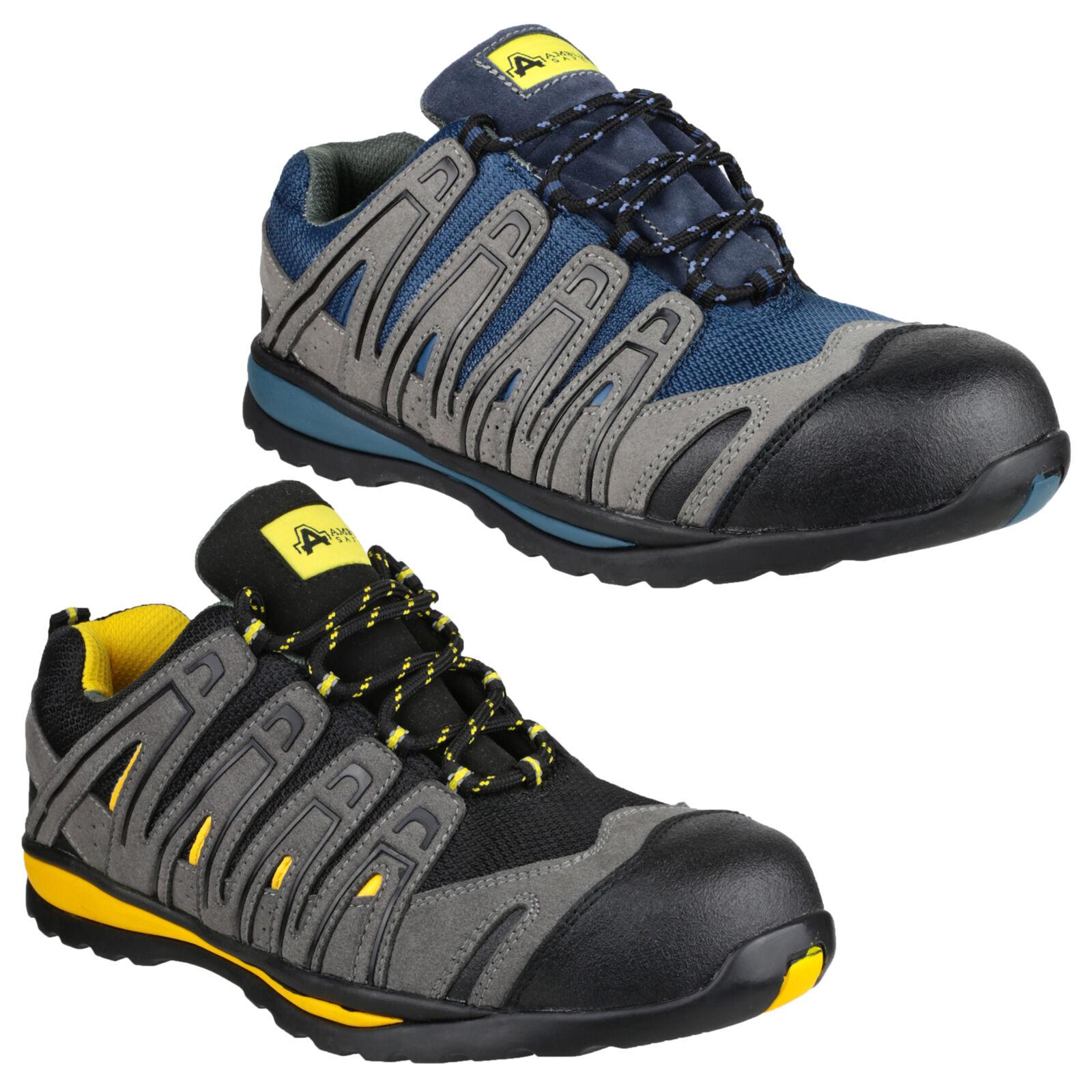 AMBLERS sicurezza sul lavoro scarpe sportive uomo punta in materiale composito Scarpe classiche da uomo