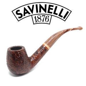 NEW-Savinelli-Dolomiti-Rustic-602-6mm-Filter-Pipe