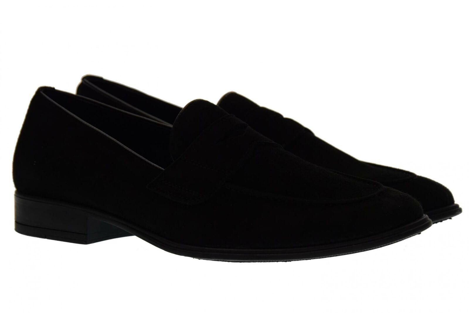 Antica Cuoieria P18u men's shoes moccasins 19763-A-S67 BLACK AMALFI