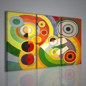 Quadri moderni robert delaunay i quadro moderno 120x90cm for Quadri arredamento moderno