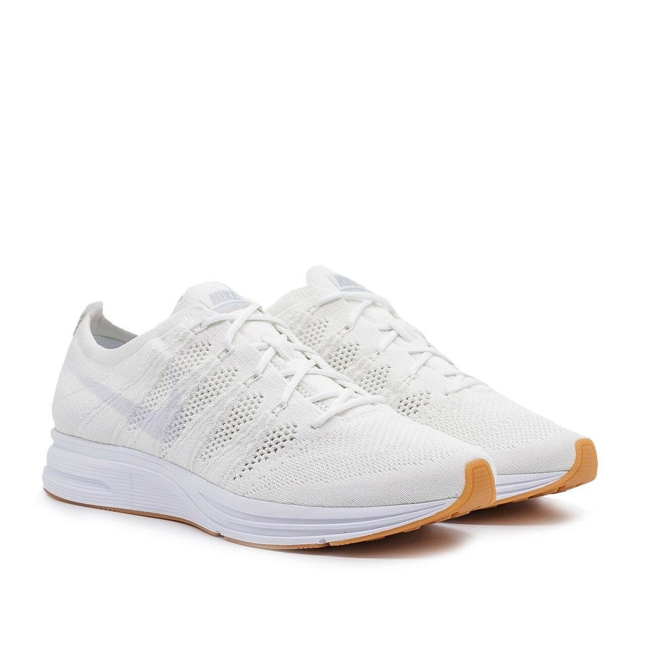 NIKE FLYKNIT TRAINER TRIPLE WHITE AH8396 102 BRAND NEW LIFESTYLE SHOES