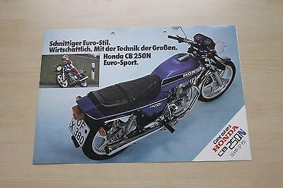 Kind-Hearted 166798 Honda Cb 250 N Prospekt 197? Manuals & Literature Car & Truck Manuals